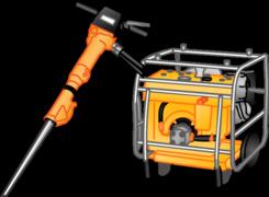 Hydraulische Geräte u. Werkzeuge mieten