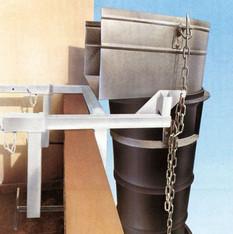 Schuttklammer Befestigungs-Set  mieten leihen