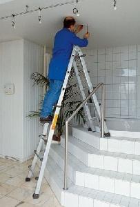 Treppen-Stehleiter 2,1 m mieten leihen