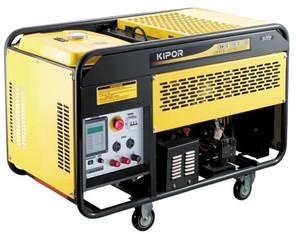 Stromerzeuger  10 KVA 230V +  400V mieten leihen