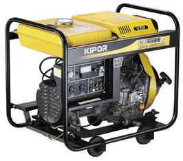 Stromerzeuger  5  KVA_Diesel  230V mieten leihen