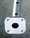 Bau-Stützen 300  CD30_verzinkt    ab 50_Stück mieten leihen