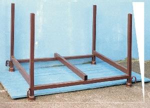 Palette 150 x 80 HolzTräger mieten leihen