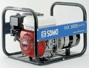 Stromerzeuger  3 kW_230V  Benzin mieten leihen