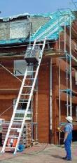 Dachdecker -Aufzug Schräg 12 m  200 kg_steckbar mieten leihen