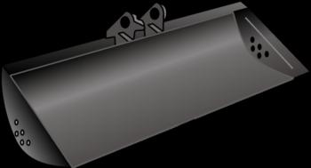 Bagger-Löffel   60 cm_MS01 mieten leihen