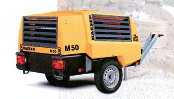 Kompressor  10 bar 4,2 cbm_Mobil_M45 mieten leihen