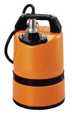 Flachsauger Bau_Pumpe  170 Ltr /min  BLAU_240V mieten leihen