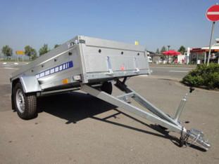 Anhänger 0,75 to Kippanhänger 1,5m mieten leihen