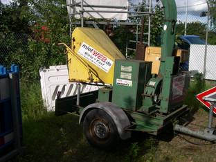Häcksler 15 cm_Diesel    OLDI_für Gewerbeknden  _Holz-Häcksler_Grob mieten leihen