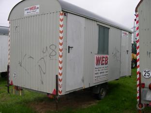 Bauwagen  5 m   Lkw   2_Räume   25km/h mieten leihen