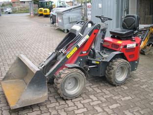 Mini-Radlader 0,3 cbm  Knicklader _Norcar 755    Breit_1,05 m mieten leihen