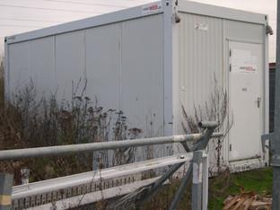 Baustellen-Container  6 m *** StirnFenster mieten leihen