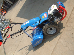Einachsschlepper Gartenfräse  50 cm 2-gang  Blau_Benzin  mieten leihen