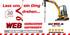 Mini-Bagger   bis 1,5 to + Anhänger  _AKTION