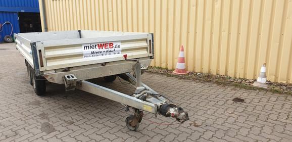 Anhänger 3,5 to   Kasten-Pritschen-Anhänger_4 x 1,8 m mieten leihen