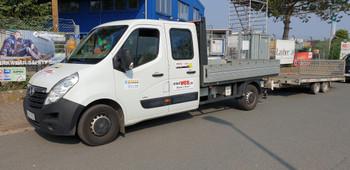Pritschen-LKW 3,5 to mieten leihen