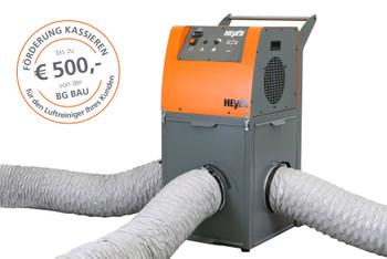 Luftreiniger_PF3500  3-Raum_Absaug-System   mieten leihen
